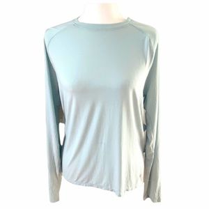Under Armour loose open back tee size Small